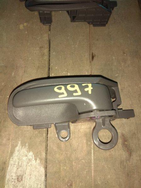 Ручка двери внутренняя Toyota Platz NCP12 задняя левая