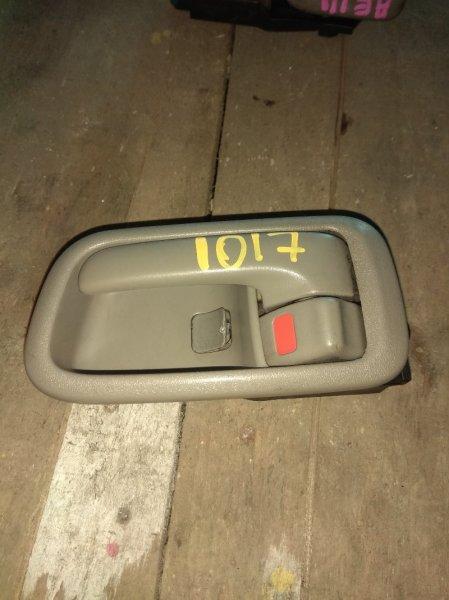 Ручка двери внутренняя Toyota Spacio AE111 передняя левая