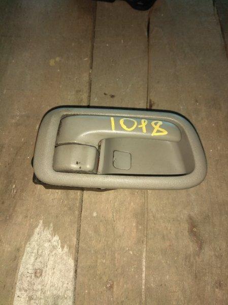 Ручка двери внутренняя Toyota Spacio AE111 передняя правая