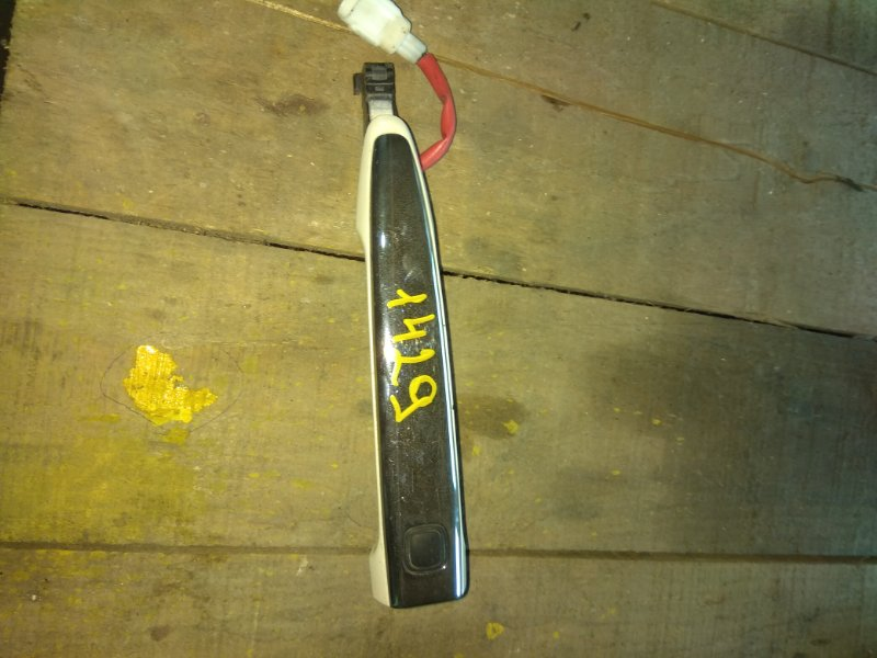 Ручка двери внешняя Toyota Crown Athlete GRS182 передняя левая