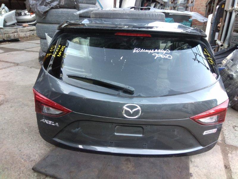 Дверь задняя Mazda Axela BM2FS SH 2014