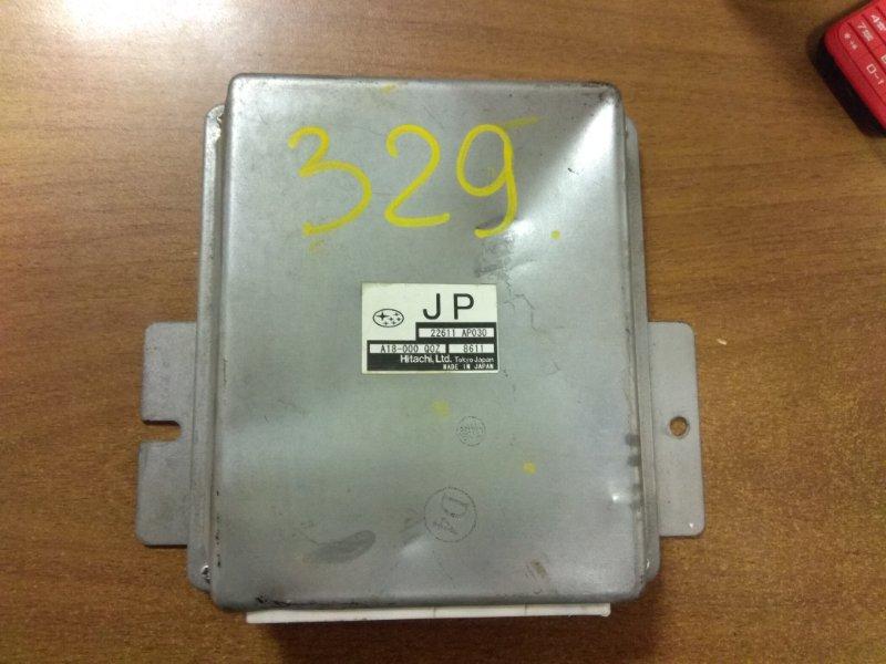 Блок управления efi Subaru Exiga YA5 EJ20 2008