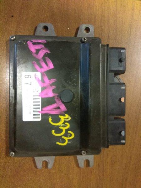 Блок управления efi Nissan Lafesta B30 MR20
