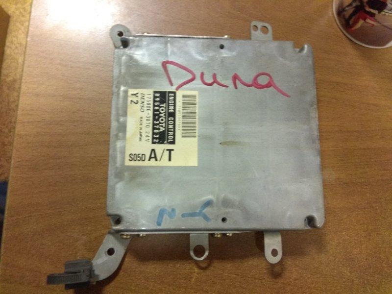 Блок управления efi Toyota Dyna XZU307 S05D 2001
