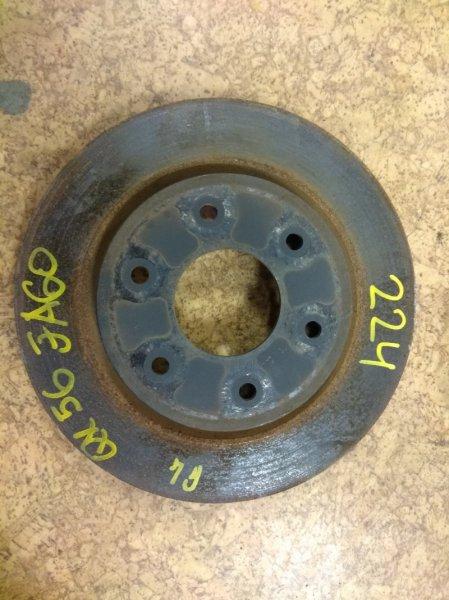 Тормозной диск Infiniti Qx56 JA60 VK56 2004 передний