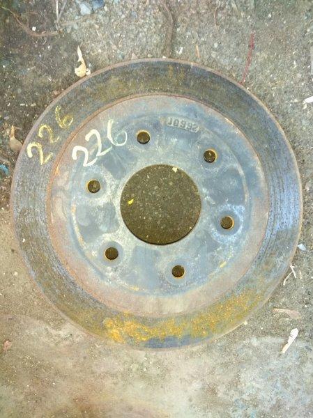 Тормозной диск Infiniti Qx56 JA60 VK56 2004 задний