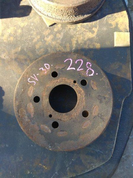 Тормозной диск Toyota Camry SV30 задний