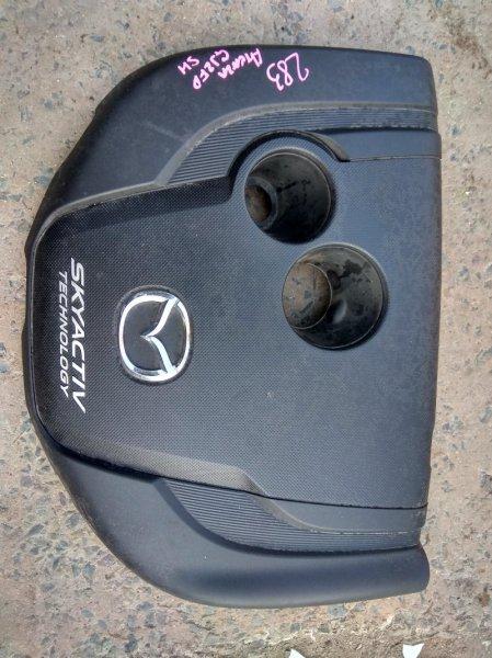 Пластиковая крышка на двс Mazda Atenza GJ2FP SH