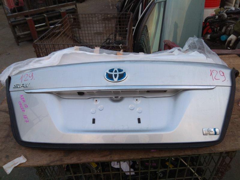 Крышка багажника Toyota Sai AZK10 2011 задняя