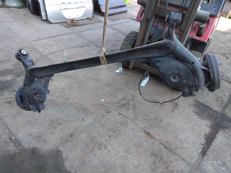 Балка подвески Mazda Demio DJ5FS S5 задняя