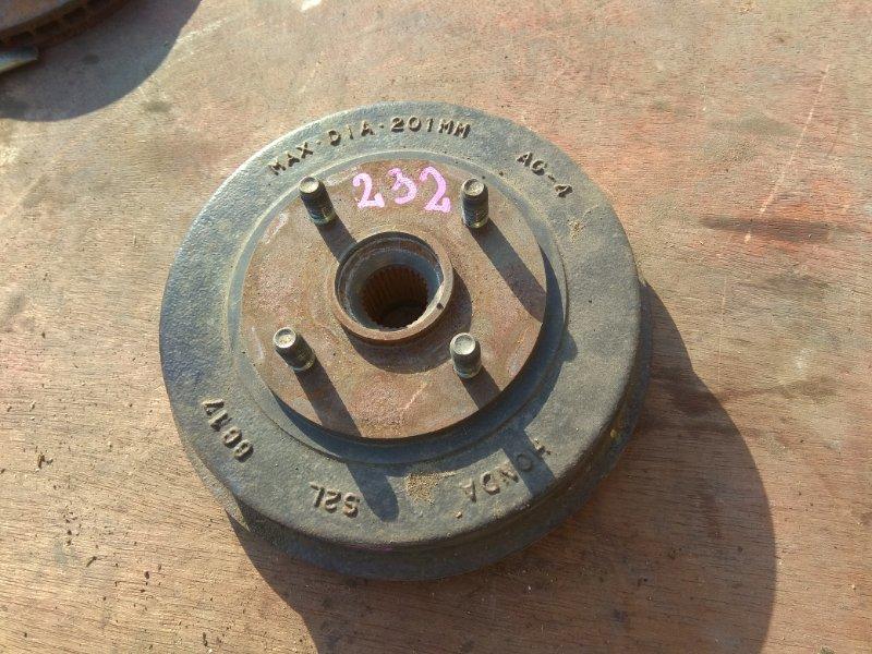 Тормозной диск Honda Fit GD4 L15A задний правый