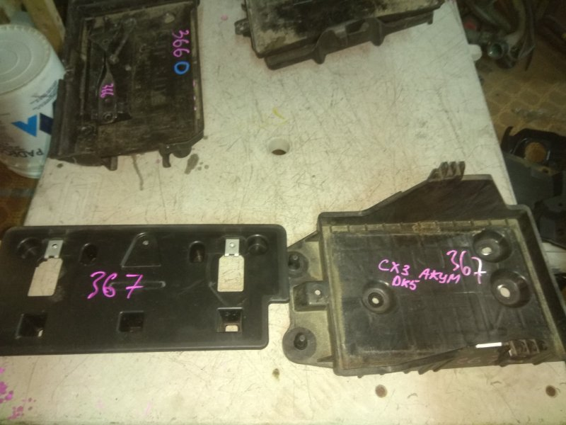Крепление аккумулятора Mazda Cx-3 DK5FW