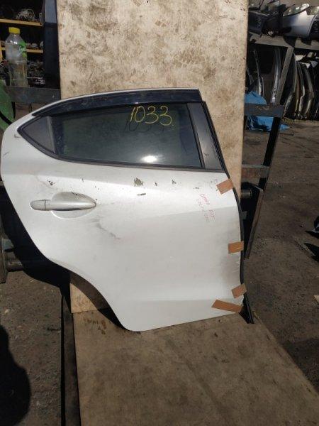 Дверь Mazda Demio DJLFS задняя правая