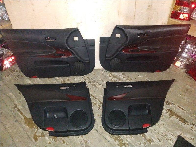 Обшивка дверей Lexus Gs300 GWS191