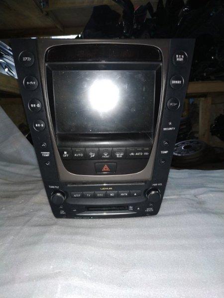 Монитор Lexus Gs300 GRS191