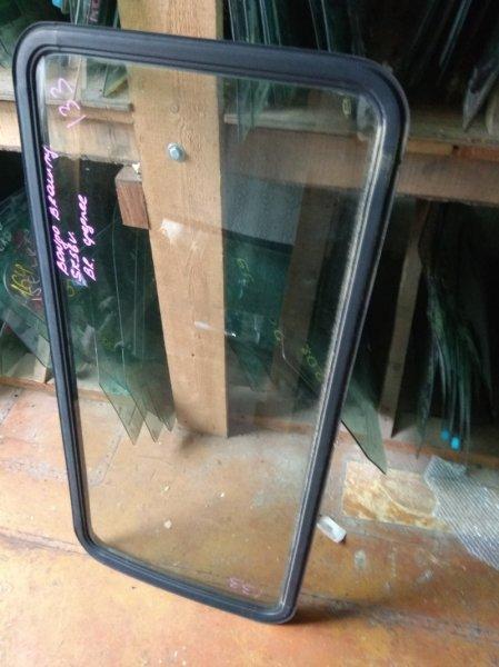 Стекло собачника Mazda Bongo Brawny SK56 заднее правое