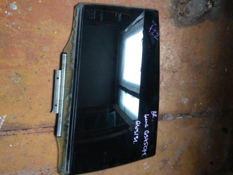Стекло двери Lexus Gs300 GWS191 заднее правое