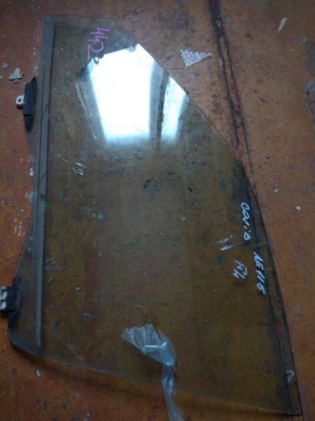 Стекло двери Toyota Carib AE115 переднее левое