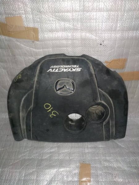 Пластиковая крышка на двс Mazda Axela BM2FS SH