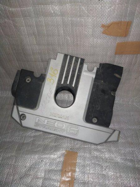 Пластиковая крышка на двс Nissan Stagea WGNC34 RB25DE