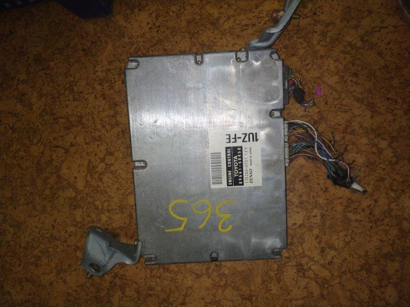 Блок управления efi Toyota Celsior UCF21 1UZ
