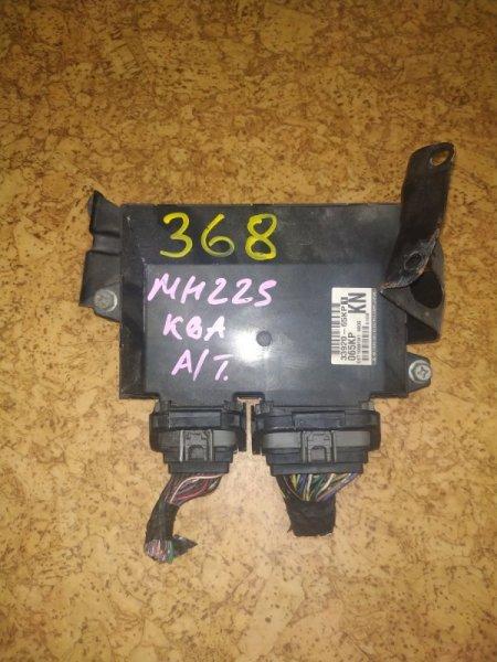 Блок управления efi Suzuki Wagon R Stingray MH22S K6A