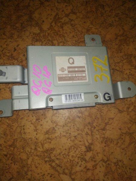 Электронный блок Nissan Bluebird Sylphy QG10 QG18