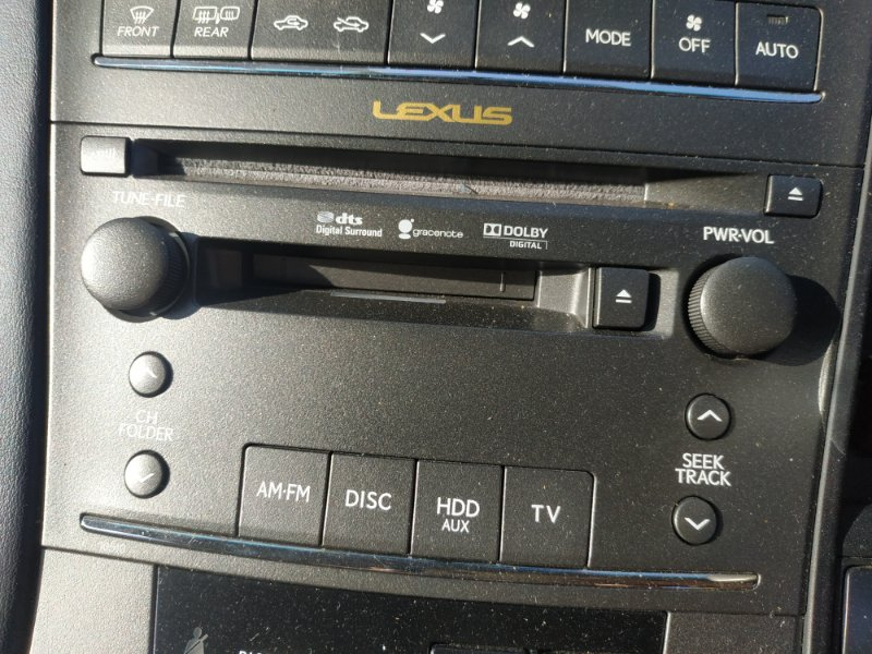 Магнитофон Lexus Hs250H ANF10 2AZ-FXE 2011