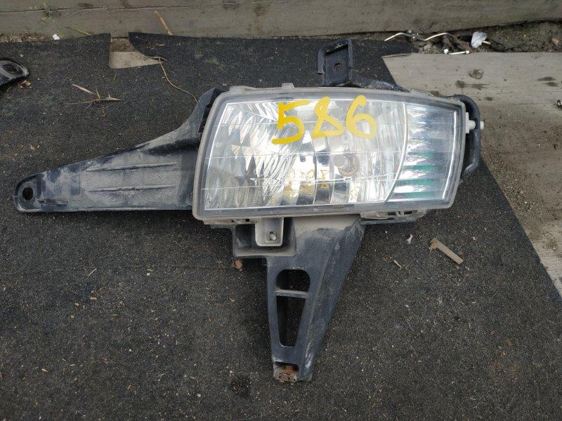 Туманка Toyota Estima ACR50 передняя левая