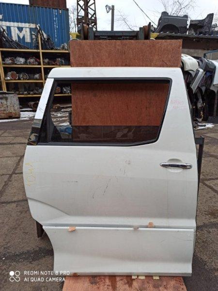 Дверь Toyota Alphard ANH10 задняя правая