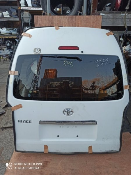 Дверь задняя Toyota Hiace KDH205