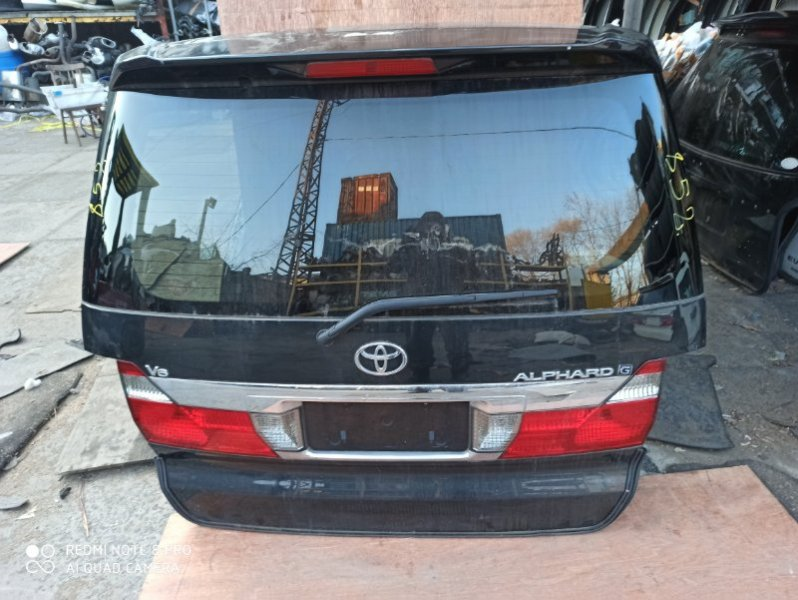 Дверь задняя Toyota Alphard ANH10