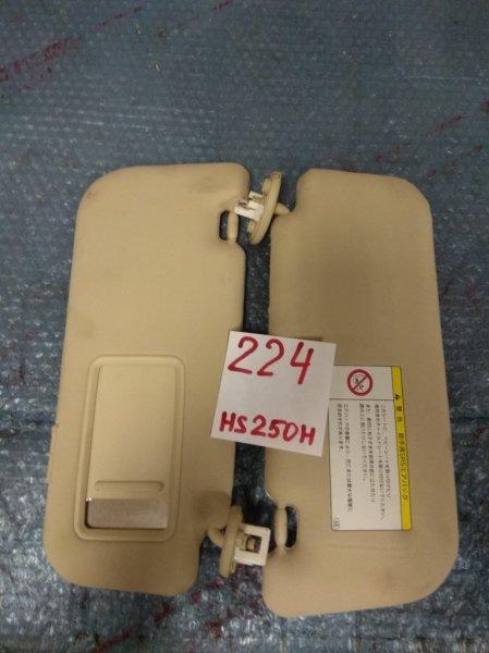 Козырек Lexus Hs250H ANF10 2AZ-FXE