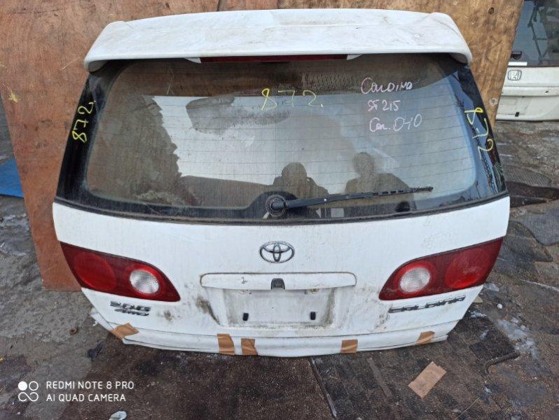 Дверь задняя Toyota Caldina AT211
