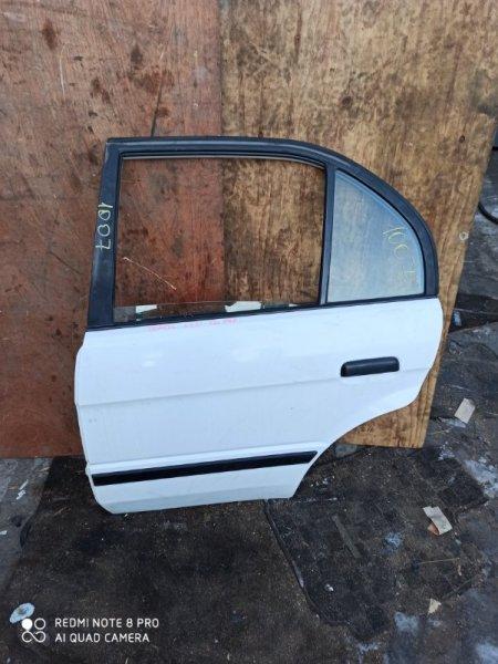 Дверь Toyota Tercel EL51 задняя правая