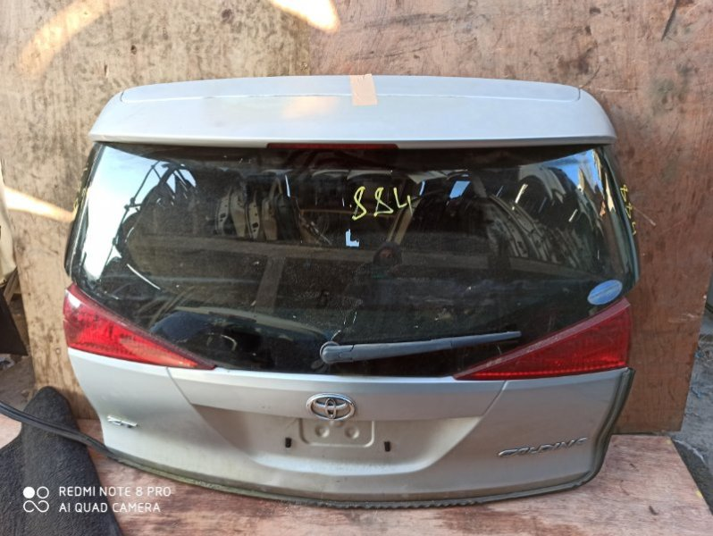 Дверь задняя Toyota Caldina AZT241 задняя