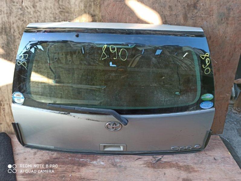Дверь задняя Toyota Opa ZCT10 задняя