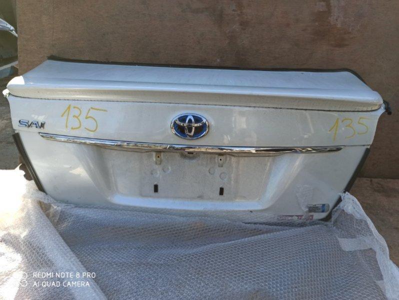 Крышка багажника Toyota Sai AZK10 2AZ-FXE 2011