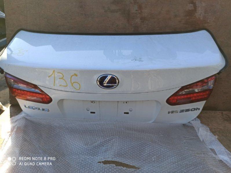 Крышка багажника Lexus Hs250H ANF10 2AZ-FXE