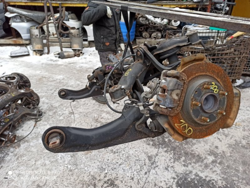 Балка подвески Mazda Atenza GHEFP LF 2011 задняя