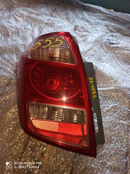 Стоп-сигнал Toyota Ractis NCP100 задний левый