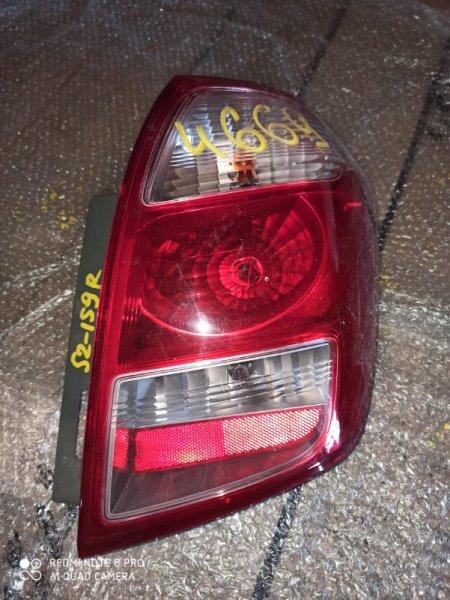 Стоп-сигнал Toyota Ractis NCP105 1NZ-FE задний правый