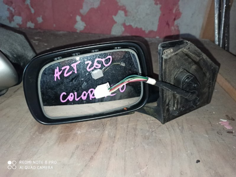 Зеркало Toyota Avensis AZT250 левое