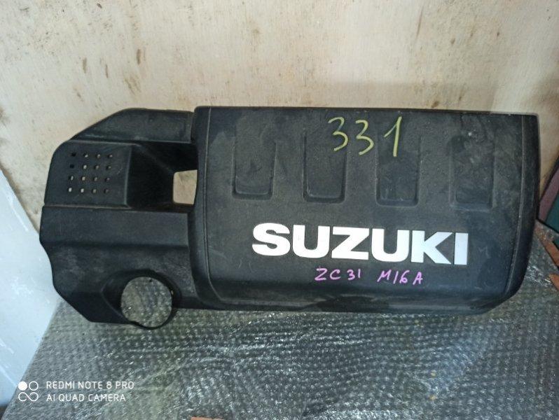 Пластиковая крышка на двс Suzuki Swift ZC31S M16A