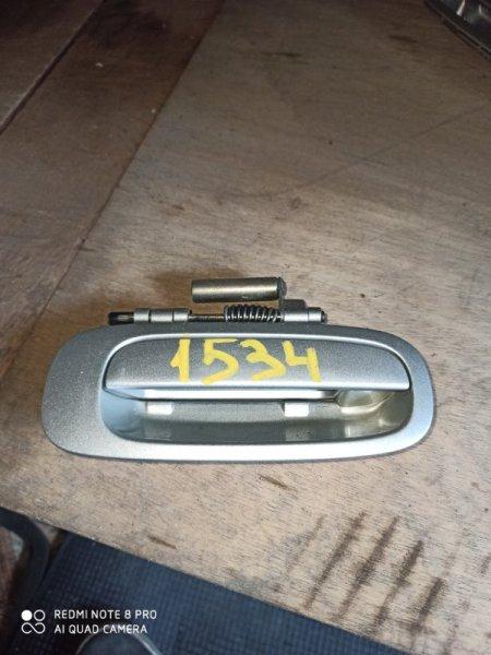 Ручка двери внешняя Toyota Carina AT211 задняя правая