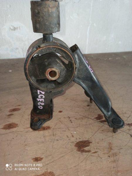 Подушка двигателя Toyota Wish ZGE20 2ZR-FAE задняя
