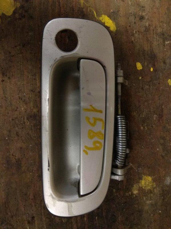 Ручка двери внешняя Toyota Chaser JZX90 передняя правая