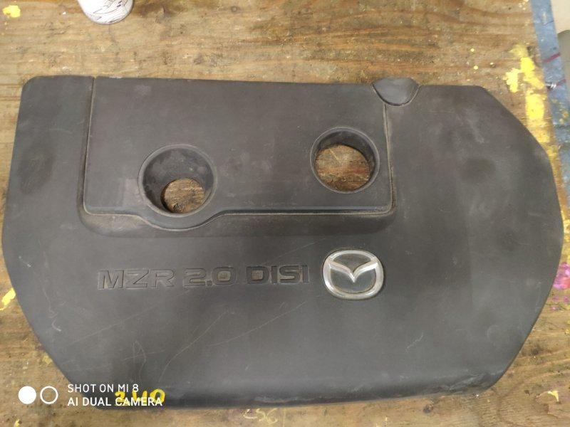 Пластиковая крышка на двс Mazda Axela BKEP LF 2006