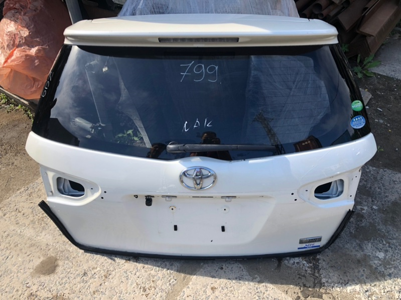Дверь задняя Toyota Wish ZGE20G