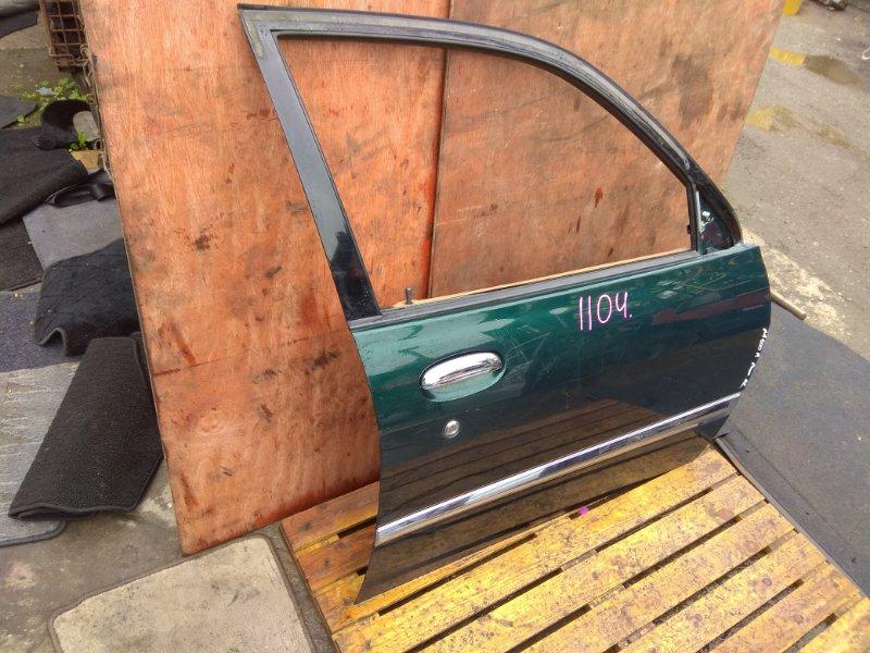 Дверь Daihatsu Storia M100A передняя правая